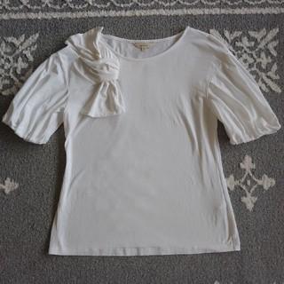 エポカ(EPOCA)の新品未使用エポカ40リボンTシャツ(Tシャツ(半袖/袖なし))