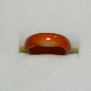 瑪瑙 指輪 14.5号 A下4 天然石 メノウ リング(リング(指輪))