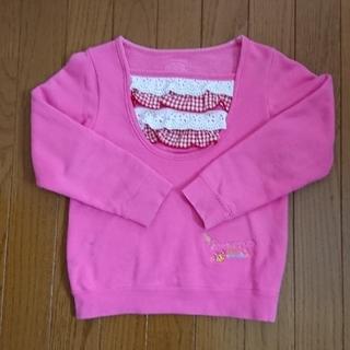 ケーエルシー(KLC)のKLC  ピンクトレーナー(Tシャツ/カットソー)