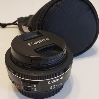 Canon - Canon EF40mm F2.8 STM 単焦点 レンズ パンケーキ