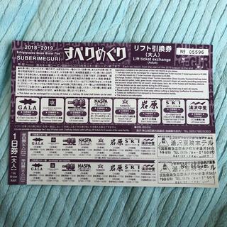 神立 ガーラ湯沢 リフト券(ウィンタースポーツ)
