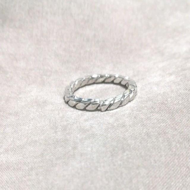 【Z21】ピンキーリング silver*4号*  レディースのアクセサリー(リング(指輪))の商品写真