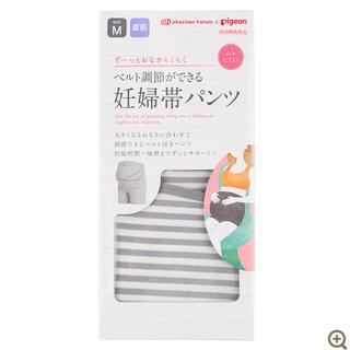 Pigeon - アカチャンホンポ ピジョン ベルト調節ができる妊婦帯パンツ Mサイズ