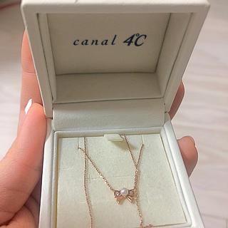 カナルヨンドシー(canal4℃)のcanal4℃ ネックレス(ネックレス)