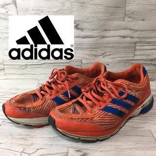 アディダス(adidas)のアディダス アディゼロボストン3 ランニングシューズ スニーカー オレンジ 28(シューズ)