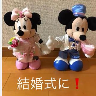 ディズニー(Disney)のミッキーミニー結婚式(ウェルカムボード)