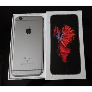 iPhone - 美品!SIMロック解除済! ドコモ iPhone6s 32GB スペースブラック