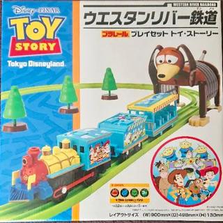 ディズニー(Disney)のディズニー プラレール トイストーリー ウエスタンリバー鉄道(電車のおもちゃ/車)
