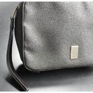 ダンヒル(Dunhill)のdunhill ダンヒル 多機能 レザー セカンドバッグ ハンドバッグ(セカンドバッグ/クラッチバッグ)