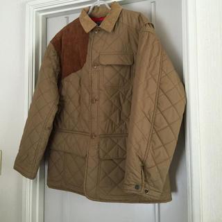 ポロラルフローレン(POLO RALPH LAUREN)のラルフローレン 異素材キルティングコート(ノーカラージャケット)