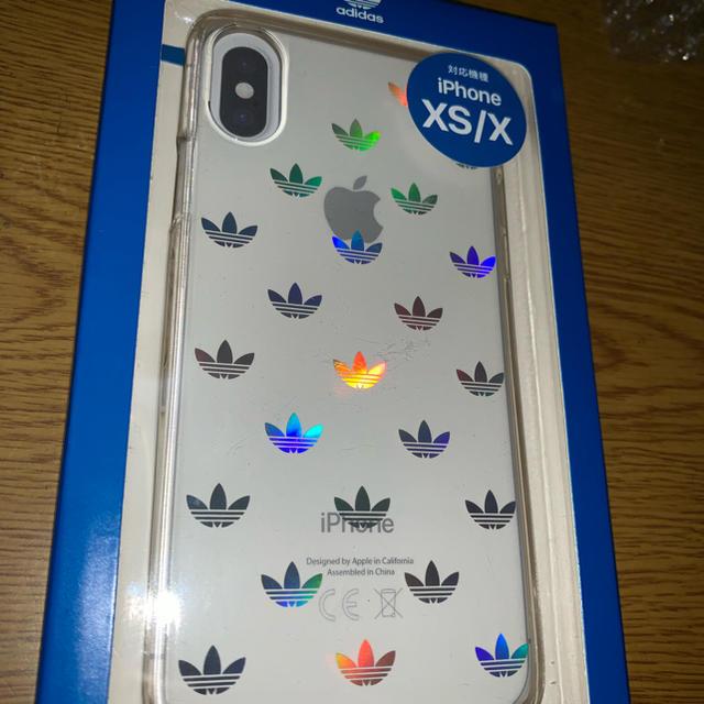 adidas(アディダス)のiPhoneX.Xsケース adidas スマホ/家電/カメラのスマホアクセサリー(iPhoneケース)の商品写真