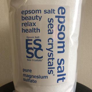 【お試し】エプソムソルト シークリスタル(入浴剤/バスソルト)