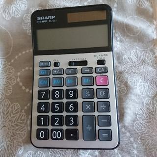 シャープ(SHARP)の学校用電卓 EL-G37(その他)