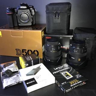 Nikon - Nikon D500+SIGMAレンズ2本+Lexar XQD 2.0カード等