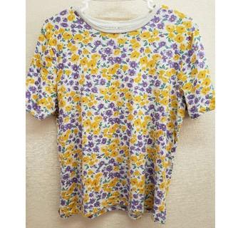 シマムラ(しまむら)の花柄★Tシャツ(Tシャツ(半袖/袖なし))