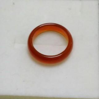 瑪瑙 指輪 14号 B上5 天然石 メノウ リング(リング(指輪))