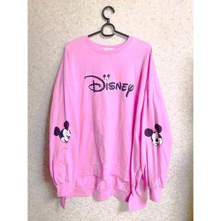ディズニー(Disney)のDisney フィッシュテール アシンメトリー ワンピース トップス ピンク(ひざ丈ワンピース)