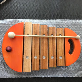 ボーネルンド(BorneLund)の中古 ベビーシロフォン bornelund 激安(楽器のおもちゃ)