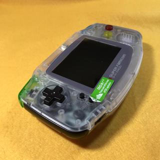 ゲームボーイアドバンス(ゲームボーイアドバンス)のGBA ゲームボーイアドバンス バックライト 改造 カスタム品(携帯用ゲーム本体)