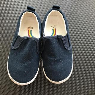 ムジルシリョウヒン(MUJI (無印良品))の中古 子供靴 無印良品 サイズ15センチ(スニーカー)