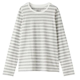 MUJI (無印良品) - 無印 ボーダー Tシャツ