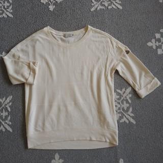 モンクレール(MONCLER)のusedMONCLER七分丈Sサイズ薄いトレーナー生地(Tシャツ(長袖/七分))