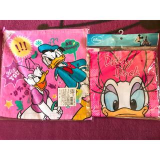 ディズニー(Disney)のループタオル コップ袋 ドナルド デイジー(その他)