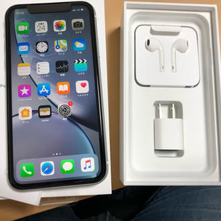 iPhone - 新品 iPhone XR 128G ホワイト