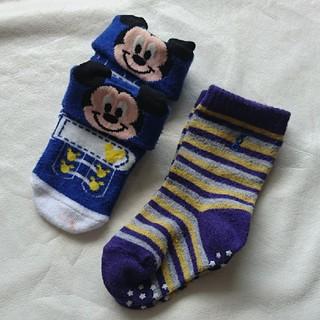 ディズニー(Disney)のベビー靴下まとめ売り!11~13cm(靴下/タイツ)