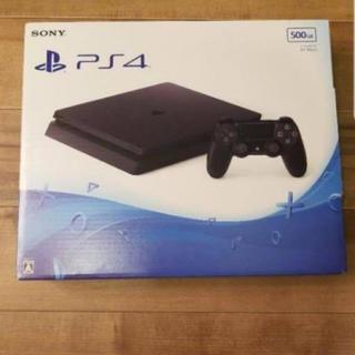プレイステーション4(PlayStation4)のPlayStation®4 ジェット・ブラック 500GB(家庭用ゲーム本体)