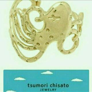 ツモリチサト(TSUMORI CHISATO)の【未使用】タコさんリングはツモリチサトジュエリー13号(リング(指輪))