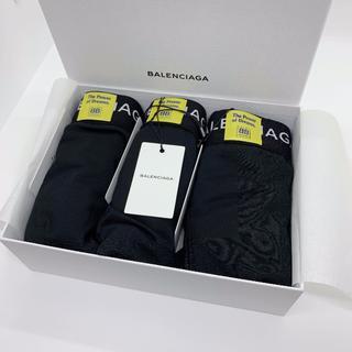 バレンシアガ(Balenciaga)の確実正規品 BALENCIAGA ボクサーパンツ S ロゴ 三代目 登坂(ボクサーパンツ)