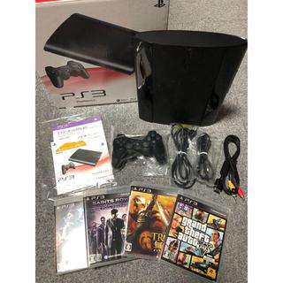 プレイステーション3(PlayStation3)の【新品購入】PS3 本体 ソフト セーブデータ付き(家庭用ゲーム本体)