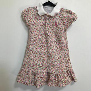 195c5c163ef30 Ralph Lauren - RALPHLAUREN 花柄ポロシャツワンピース90サイズ 女の子 上品 半袖