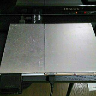 ソニー(SONY)のPS2 本体 90000 薄型 ソフト コントローラー メモリーカード hdmi(家庭用ゲーム本体)