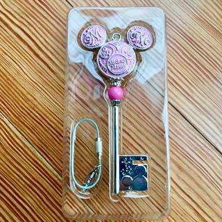 ディズニー(Disney)のミッキー 鍵型 ストラップ(ストラップ)