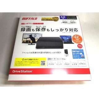 新品未開封 バッファロー 外付けHDD 4TB HD-NRLD4.0U3-BA