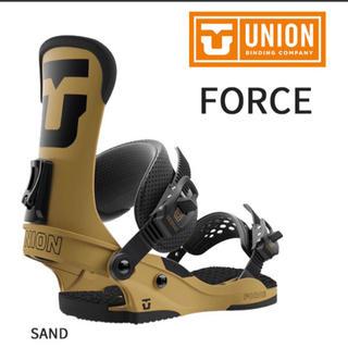 ユニオン フォース 18-19モデル Lサイズ 新品未使用 UNION サンド(バインディング)