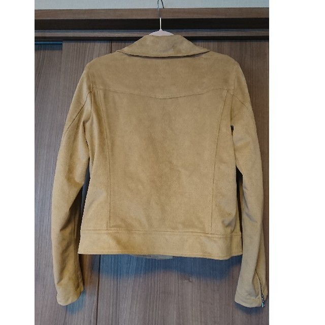 UNIQLO(ユニクロ)のUNIQLO スエードタッチライダースジャケット レディースのジャケット/アウター(ライダースジャケット)の商品写真