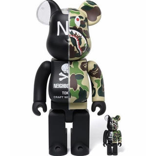 A BATHING APE - BATHING APE NEIGHBORHOOD BE@RBRICK 400%