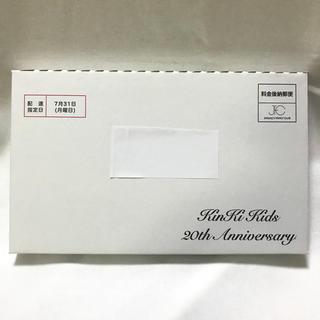 キンキキッズ(KinKi Kids)の⭐️セール⭐️ KinKi Kids キンキキッズ 20周年記念品 DVD 新品(ミュージック)