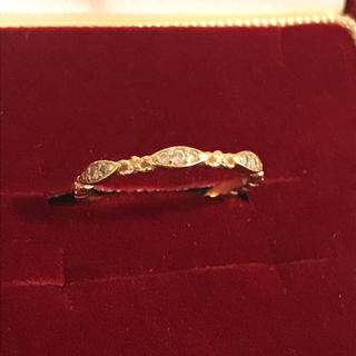 アガット(agete)のアガット 指輪 k10 ダイヤ 7号  リング(リング(指輪))