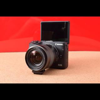 キヤノン(Canon)のCanon EOS M3 レンズキット!選べるバック Wi-Fi 3-23!(ミラーレス一眼)