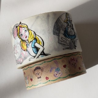ディズニー(Disney)の【3月末までの価格!!】ディズニーキャラクター/マスキングテープセット・2種類(テープ/マスキングテープ)