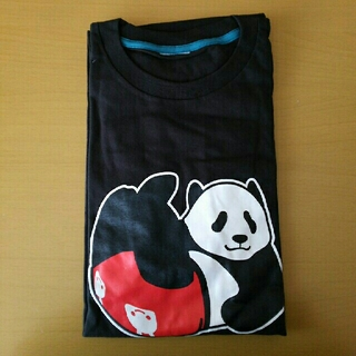 キューン(CUNE)のCUNE Tシャツ 半袖 パンツパンダ XL ブラック (Tシャツ/カットソー(半袖/袖なし))