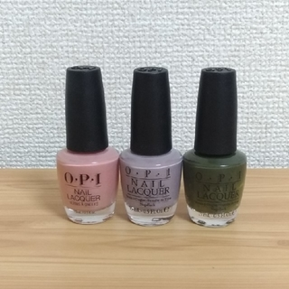 オーピーアイ(OPI)のO.P.I マニキュア 3点セット (マニキュア)