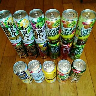 缶チューハイ500ml  詰め合わせ17缶(その他)