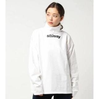 ステューシー(STUSSY)のstussywomen ハイネック トップス(Tシャツ(半袖/袖なし))