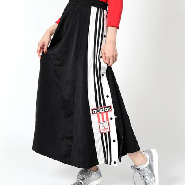 adidas(アディダス)のadidas アディダス ロングスカート レディースのスカート(ロングスカート)の商品写真