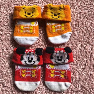 ディズニー(Disney)の靴下4足♡(靴下/タイツ)